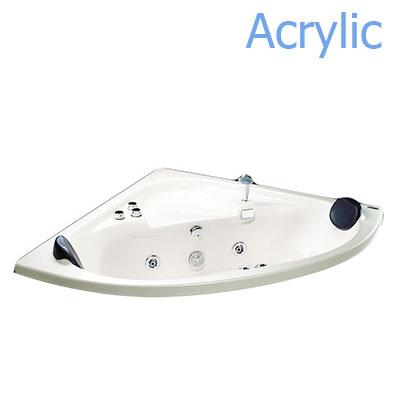 Bồn tắm xây massage Acrylic MICIO W-140M (không chân yếm)