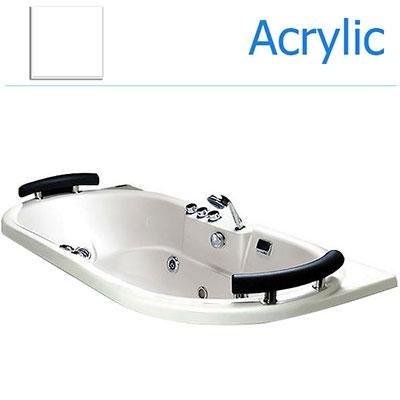 Bồn tắm xây massage Acrylic MICIO W-180M