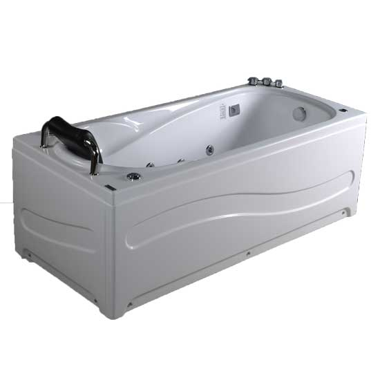 Bồn tắm massage Acrylic MICIO WM-150R (Yếm phải)