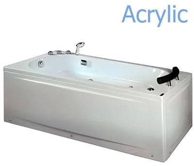 Bồn tắm massage Acrylic MICIO WMN-170L (Yếm trái)