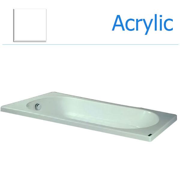 Bồn tắm xây MICIO WN-170B (Acrylic, Không chân yếm)