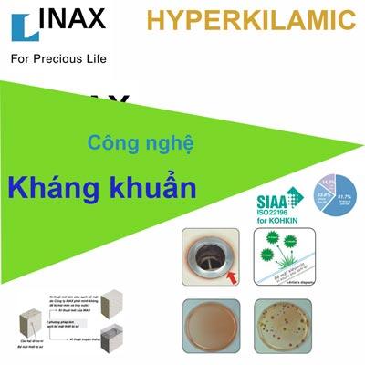 Công nghệ kháng khuẩn HyperKilamic của sứ vệ sinh Inax