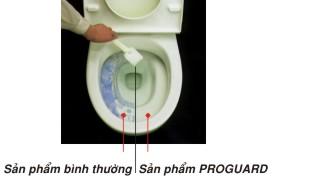 Ưu điểm của công nghệ chống bám bẩn Proguard của Inax 2