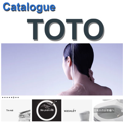 Catalogue thiết bị vệ sinh ToTo