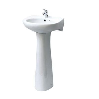 Chậu rửa chân dài Inax L-282V+L-284VD (Màu trắng)