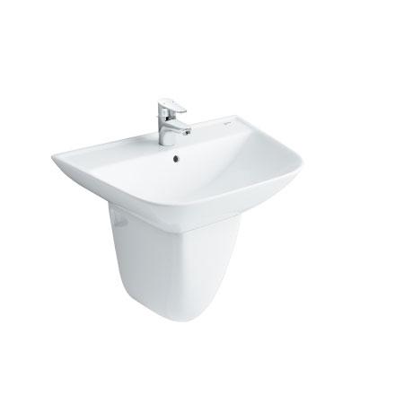 Chậu rửa chân lửng Inax L-297V+L-297VC (màu trắng)