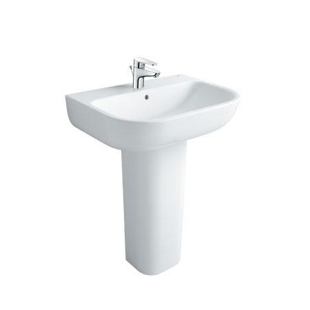 Chậu rửa chân dài Inax L-298V+L-298VD (Màu trắng)