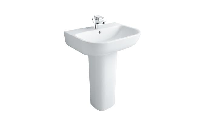 Chậu rửa chân dài Inax L-298V+L-298VD (Màu trắng) 1