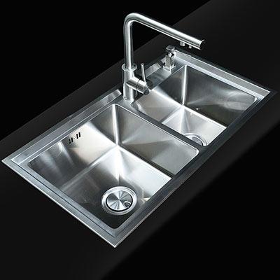 Chậu rửa bát inox 304 Moonoah MN-8045B