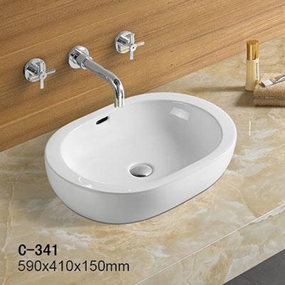 Chậu rửa mặt lavabo MOONOAH MN-C341