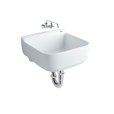Chậu rửa treo tường đa năng INAX S-17V (Màu trắng)