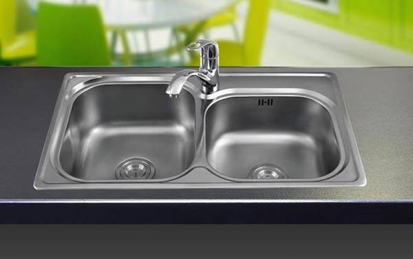 Chậu rửa bát inox Sơn Hà SH2H680
