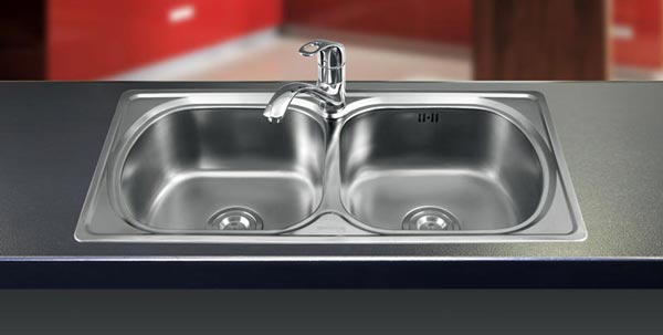 Chậu rửa bát inox Sơn Hà SH2H860