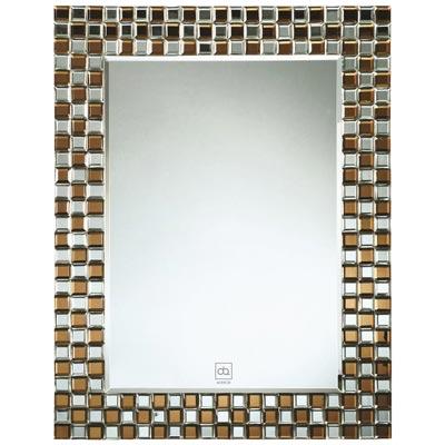 Gương trang trí có đèn LED Đình Quốc DQ66054