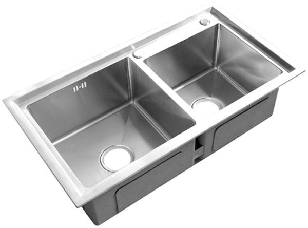 Chậu rửa bát inox 304 cao cấp AMTS BK 8246