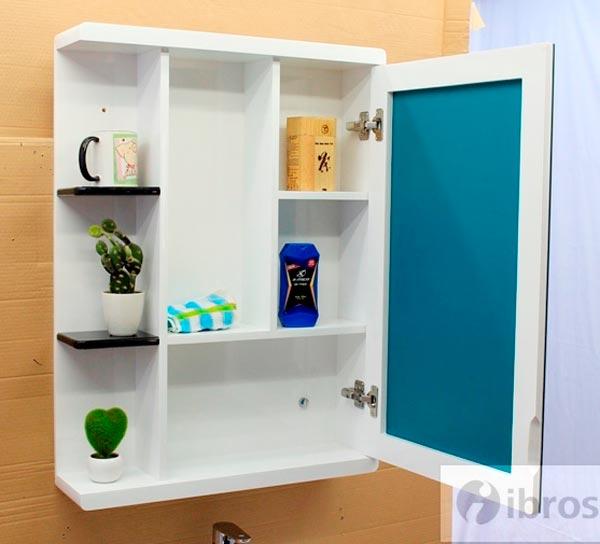 Tủ chậu nhà tắm nhựa PVC Bross BRS 2081