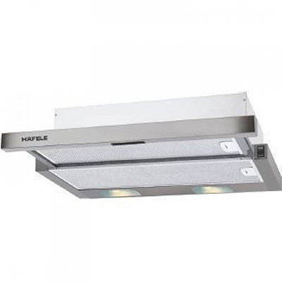 Máy hút mùi Hafele 539.82.142 (HH-WVG80A) Thông số kĩ thuật: Kích thước: 60cm, Hút khói âm tủ inox HH-TI60C, công suất 772 m3/h, Độ ồn: 56 db. Công suất tiêu thụ: 255W Đèn LED: 2×2.5 W Hiệu điện thế: 230 - 240 V Tần số: 50Hz
