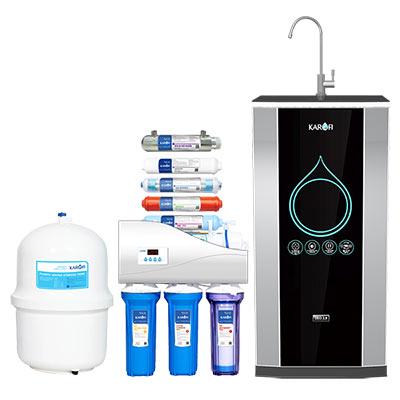 Máy lọc nước thông minh Karofi iRO 2.0, 9 cấp - K9IQ-2