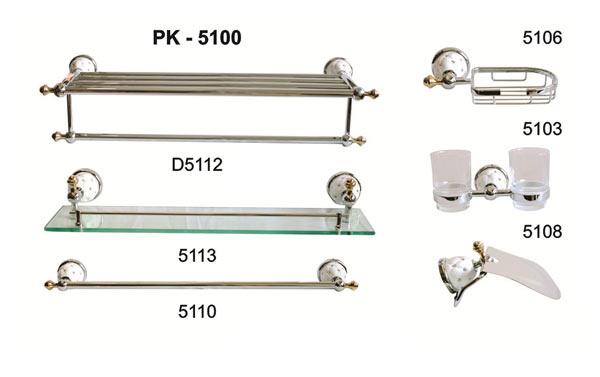 Bộ phụ kiện phòng tắm TOPY PK-5100