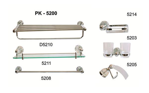 Bộ phụ kiện phòng tắm TOPY PK-5200