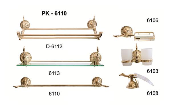 Bộ phụ kiện phòng tắm TOPY PK-6110