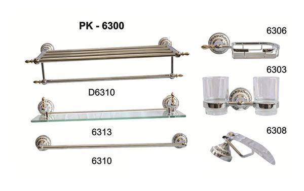 Bộ phụ kiện phòng tắm TOPY PK-6300