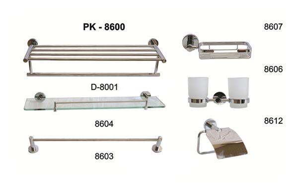 Bộ phụ kiện phòng tắm TOPY PK-8600