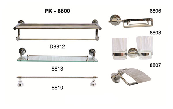 Bộ phụ kiện phòng tắm TOPY PK-8800