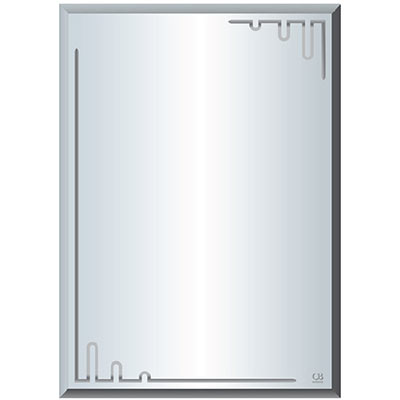 Gương phôi Mỹ QB Q520 kích thước 50×70 cm