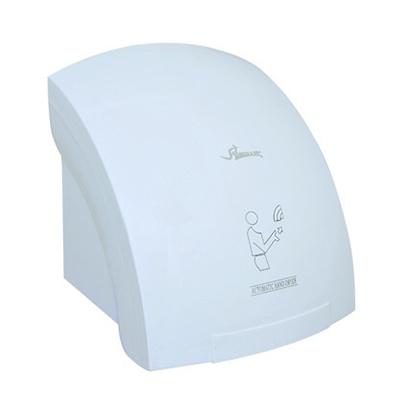 Máy sấy tay tự động Gorlde B920 Thông số kỹ thuật Tên sản phẩm : Máy sấy tay tự động Model : Gorlde B920 Công suất : 2.000W Nguồn điện : 110v - 220V Thời gian sấy khô: 9s - 12s Khoảng cách cảm ứng : 15 - 20 cm Kích thước: R240 x D240 x C230 cm Nguyên liệu: Nhựa ABS siêu bền Màu sắc: Trắng Xuất xứ Hãng sản xuất: GORLDE Sản xuất tại Gorlde Đài Loan Tính năng Máy sấy tay tự động Gorlde B920 sấy khô chỉ trong khoảng 9 – 12 giây Công nghệ cảm ứng hồng ngoại, thiết kế không cần chạm tay Tiết kiệm điện và tài nguyên Dễ dàng lắp đặt và sử dụng Nguyên lý hoạt động: Khi người sử dụng đưa tay vào vùng cảm ứng, thiết bị sẽ tự động sấy để làm khô tay và ngắt khi người sử dụng đưa tay ra.