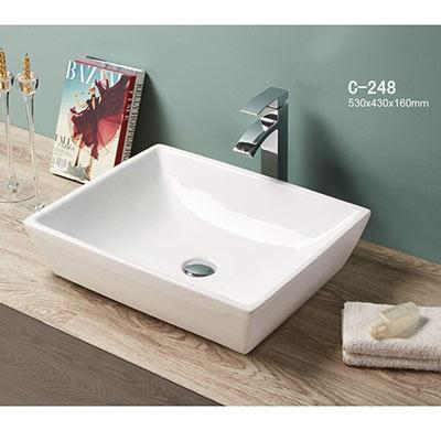 Chậu rửa mặt lavabo MOONOAH MN-C248