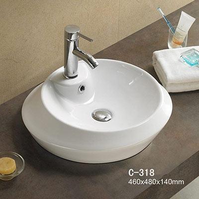 Chậu rửa mặt lavabo MOONOAH MN-C318