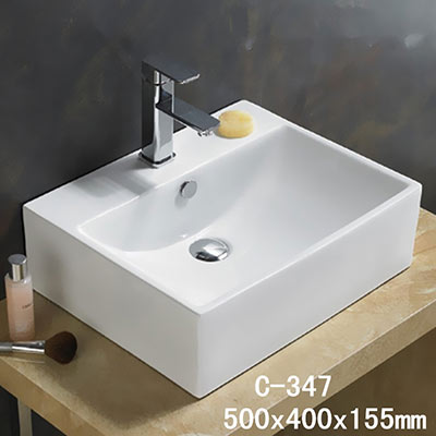 Chậu rửa mặt lavabo MOONOAH MN-C347