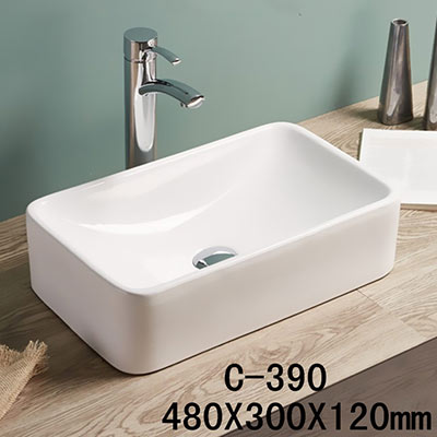Chậu rửa mặt lavabo MOONOAH MN-C390