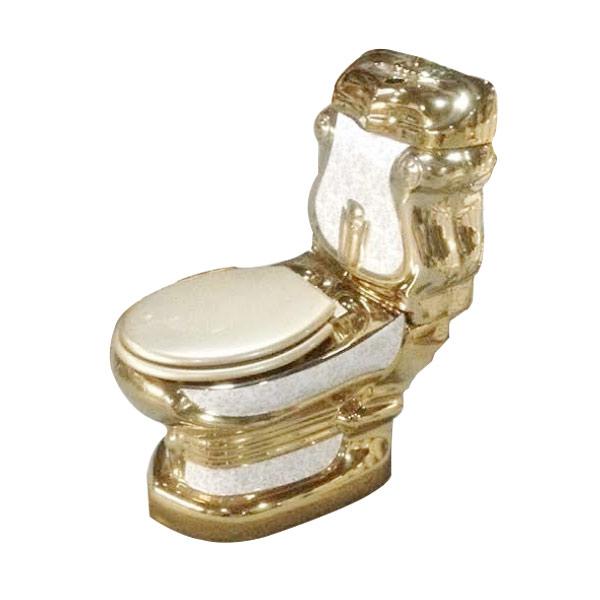Bồn cầu mạ vàng NP-0003