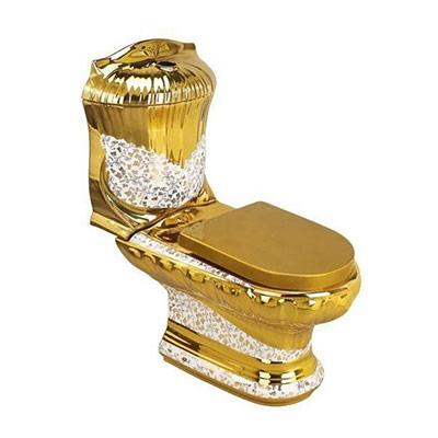 Bồn cầu mạ vàng NP-0004