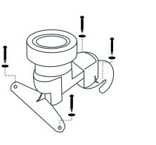 Bản vẽ bồn cầu Inax AC-4005VN 1 khối xả gạt