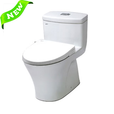 Bồn cầu Inax AC-918R+CW-S15VN (Nắp shower toilet)