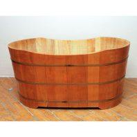 Bồn tắm gỗ Pơ Mu Ovan 1,2 m