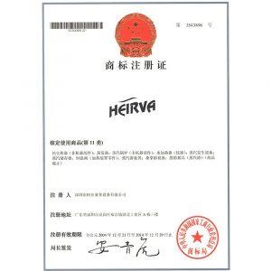 Chứng chỉ chất lượng và xuất xứ (CO,CQ) máy xông hơi nhập khẩu HEIRVA