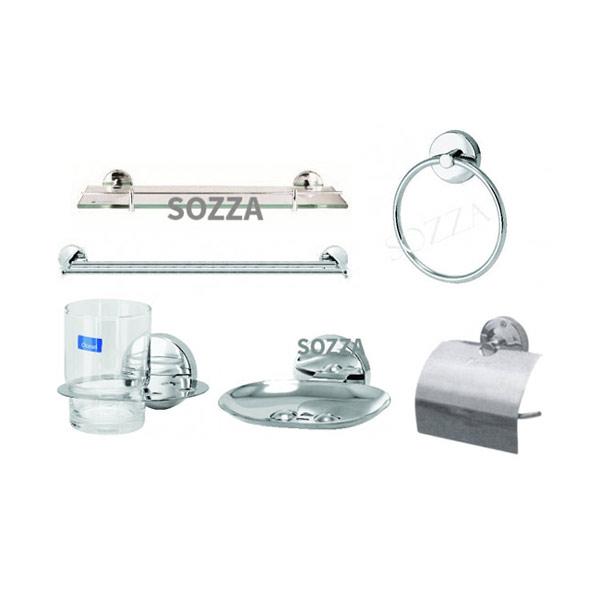 Bộ phụ kiện phòng tắm SOZZA 001