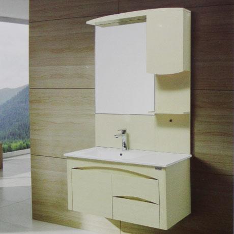 Bộ tủ chậu PVC cao cấp Bross 2082