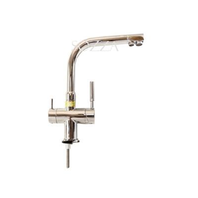 Vòi rửa bát nóng lạnh ba đường nước SOZZA