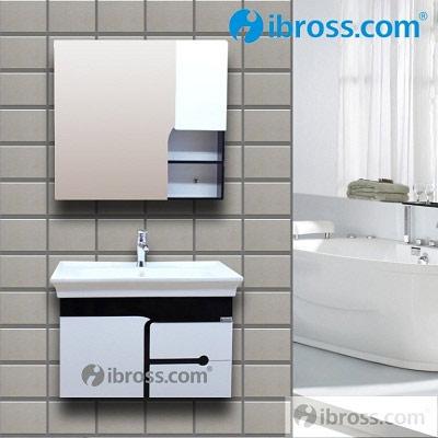 Bộ tủ chậu PVC cao cấp BROSS 2083