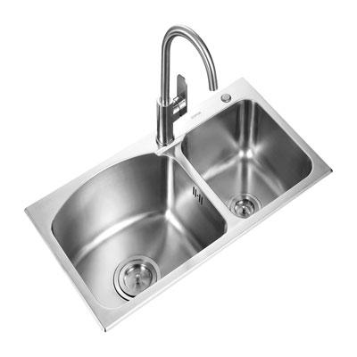Chậu rửa bát Supor 928043-02-LS ( Inox 304 )