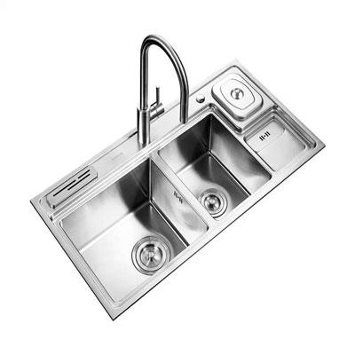 Chậu rửa bát Supor 929850-01-LS ( Inox 304 )