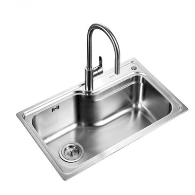 Chậu rửa bát Supor 938050-02-LS ( Inox 304 )