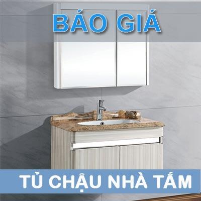 Báo giá tủ chậu nhà tắm, tủ chậu rửa mặt lavabo mới nhất