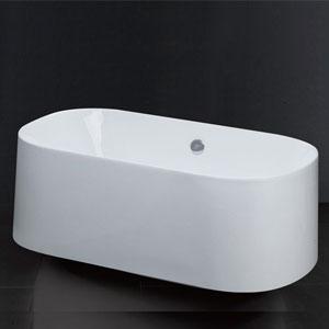 Bồn tắm nằm có chân yếm Caesar AT6350