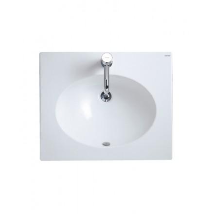 Chậu rửa lavabo liền tủ CAESAR LF5028
